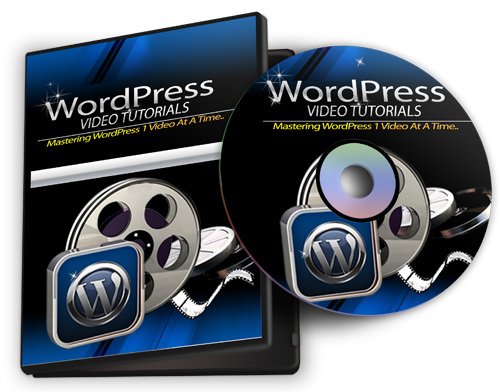 Product picture Learn WordPress, 45 tutorial videos shows you how
