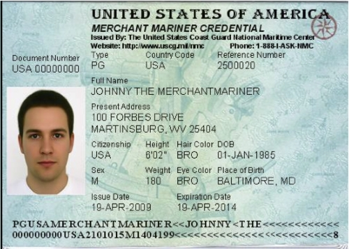 Product picture How to get your Merchant Marine Credential